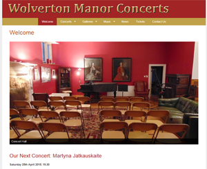 Wolverton Manor Concerts